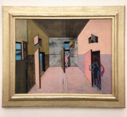 John Graham, Interior (ca 1928), via Art Observed