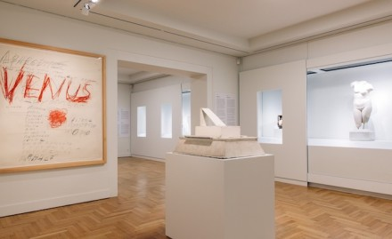DIVINE DIALOGUES: Cy Twombly and Greek Antiquity, exhibition view. All images courtesy of the Museum of Cycladic Art.