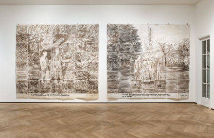 Gilbert and George, The General Jungle or Carrying on Sculpting (Installation View), all images courtesy Lévy Gorvy