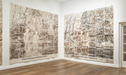 Gilbert and George, The General Jungle or Carrying on Sculpting (Installation View)