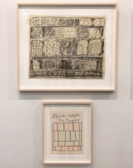 Stanley Whitney, Drawings (Installation View), via Art Observed