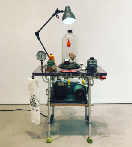 Tom Sachs at Sperone Westwater, via Art Observed.
