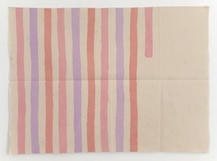 Giorgio Griffa, Verticale (1977), via Casey Kaplan