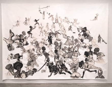 Kara Walker, Christ's Entry into Journalism (2017), via Art Observed