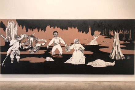 Kara Walker, Dredging the Quagmire (Bottomless Pit), (2017), via Art Observed