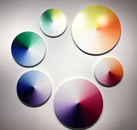 Olafur Eliasson at neugerriemschneider, via Art Observed