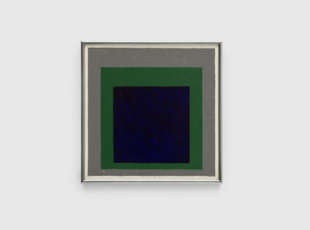 Josef Albers, Homage to the Square (1956), via David Zwirner