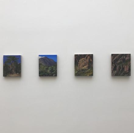 Landscapes by Van Hanos, via Art Observed