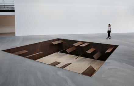 Michael Heizer, Slot Mass (1968-2017), via Gagosian