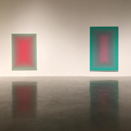 Wang Guangle, Duo Color (Installation View), via Pace