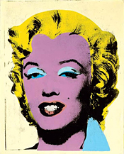 Lemon Marilyn by Warhol
