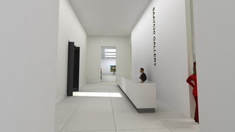 New Saatchi Gallery, London