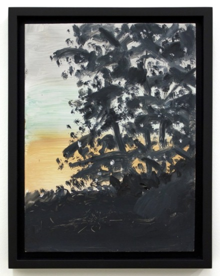 Alex Katz, Sunset 3 (2018), via Pter Blum