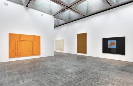 Sheer Presence Monumental Paintings By Robert Motherwell (Installation View), via Kasmin Gallery