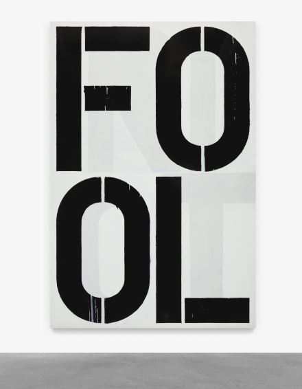 Christopher Wool, Untitled (1990), via Sotheby's