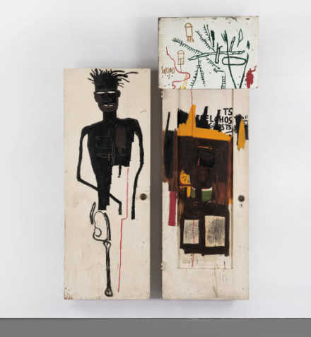 Jean-Michel Basquiat, Self Portrait (1983), via Phillips