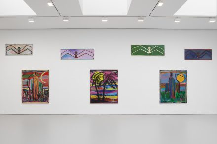 Josh Smith, Emo Jungle (Installation View), via David Zwirner