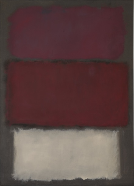 Mark Rothko, Untitled (1960), via Sotheby's