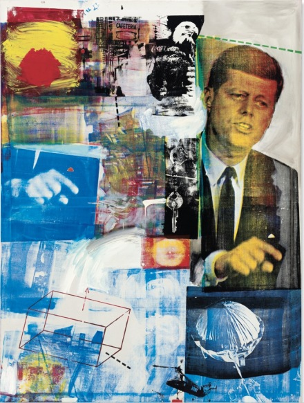 Robert Rauschenberg, Buffalo II (1964), via Christie's