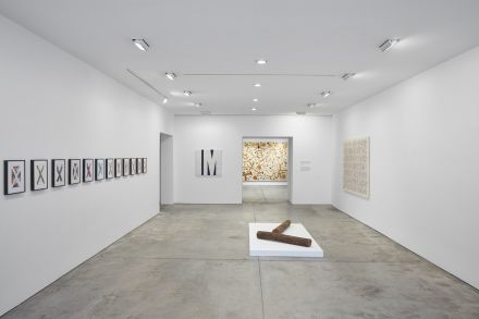 Tim Rollins and K.O.S., Workshop (Installation View), via Lehmann Maupin