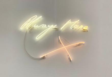 Tracey Emin, Galleria Orcan O'neill Roma, via Art Observed