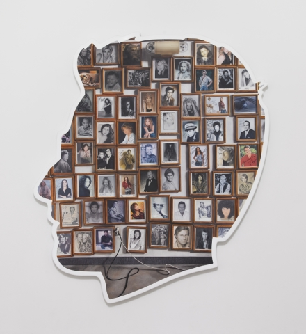 Alex Israel, Self-Portrait (Autographs) (2019), via Greene Naftali