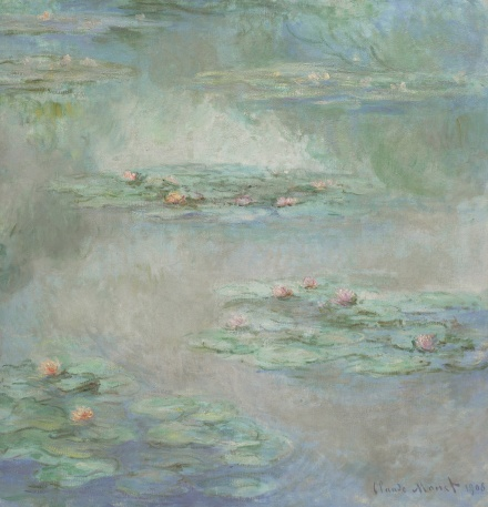 Claude Monet, Nympheas (1908), via Sotheby's