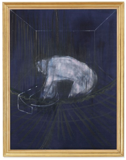 Francis Bacon, Man at a Washbasin (1954), Final Price £5,109,450, via Christie's