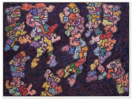 Jean Dubuffet, Cérémonie (Ceremony) (1961), via Christie's