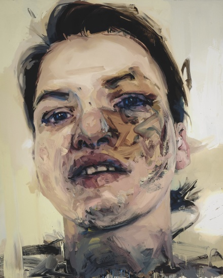 Jenny Saville, Shadow Head (2007-13), via Sotheby's