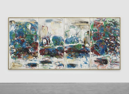 Joan Mitchell, La Seine (1967), via David Zwirner