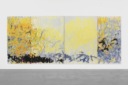 Joan Mitchell, Minnesota (1980), via David Zwirner