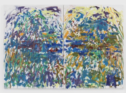 Joan Mitchell, Riviere (1990), via David Zwirner