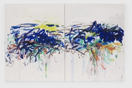 Joan Mitchell, Untitled (1992), via David Zwirner