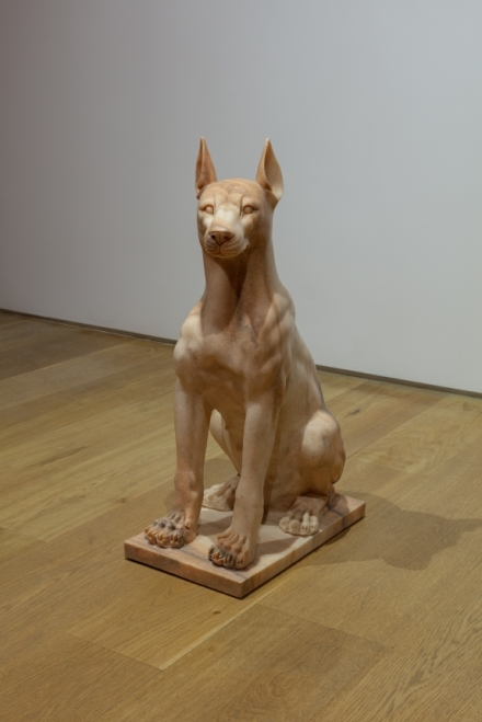 Julia Scher, Girl Dog (2005), via Ortuzar Projects
