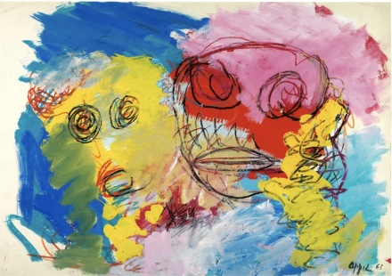 Karel Appel, Two Heads (1963), via Jahn und Jahn