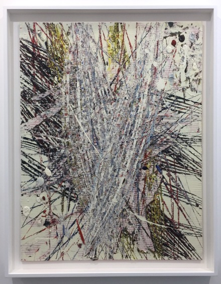 Mark Grotjahn, Untitled (Capri 50.85) (2018)