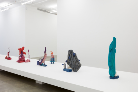 Matthew Ronay, Betrayals of and by the Body (Installation View), via Casey Kaplan
