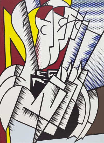 Roy Licthenstein, The Conductor (1975), via Phillips