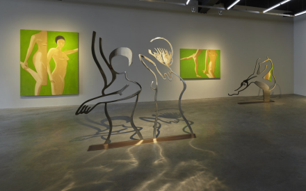 Alex Katz at Gavin Brown's Enterprise (Installation View), via Gavin Brown