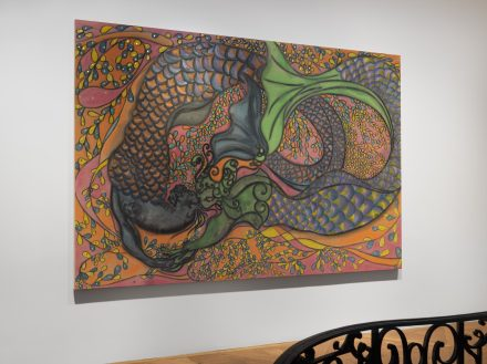 Chris Ofili, Dangerous Liasions (Installation View), via David Zwirner
