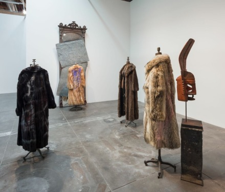 David Hammons (Installation View), via Hauser & Wirth