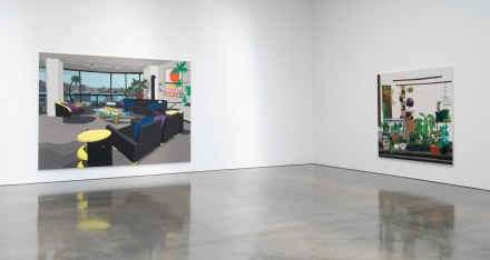 Jonas Wood (Installation View), via Gagosian