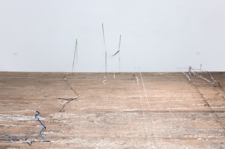 Olga Balema, Brain Damage (Installation View), via Bridget Donahue