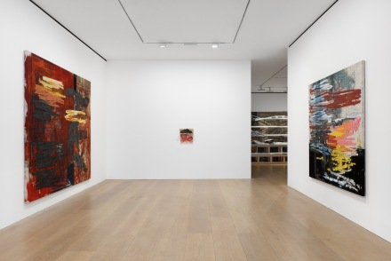 Oscar Murillo, Manifestation (Installation View), via David Zwirner