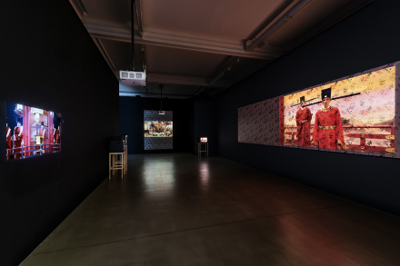 Yang Fudong, Beyond GOD and Evil – Preface (Installation View), via Marian Goodman