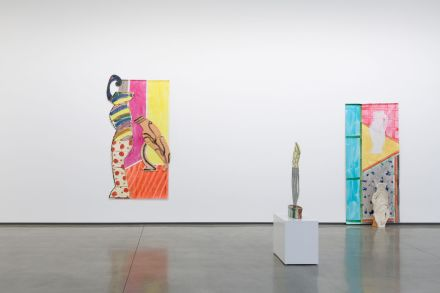 Betty Woodman, Shadows and Silhouettes (Installation View), via David Kordansky