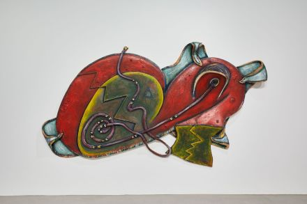 Elizabeth Murray, DuckWabbit (1992), via Pace Gallery