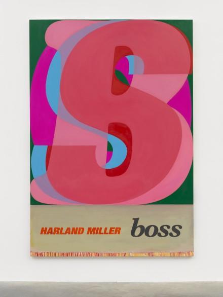 Harland Miller, Boss (2019), via White Cube