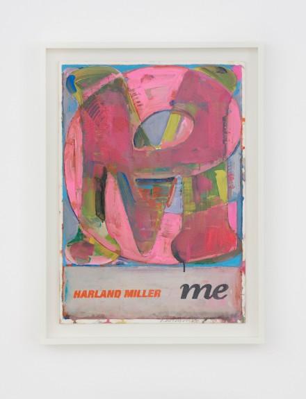 Harland Miller, Me (2019), via White Cube